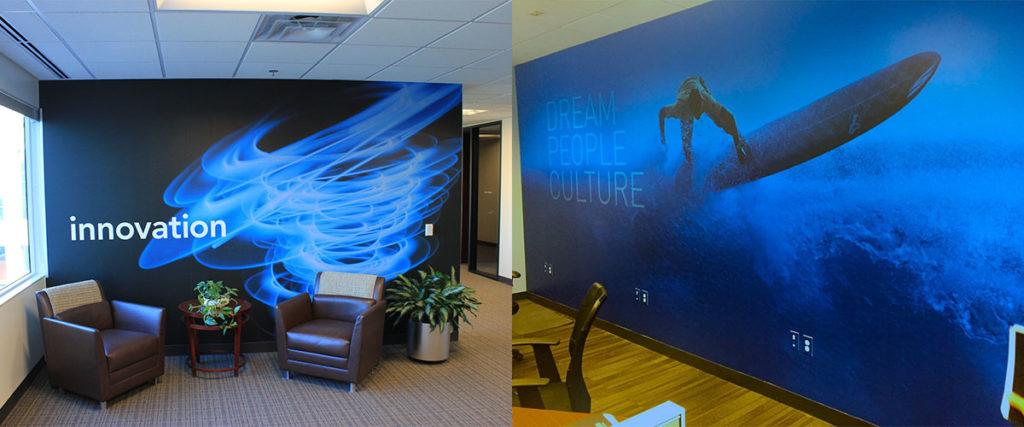 Wall Graphics, Surfer - O'Neil Printing