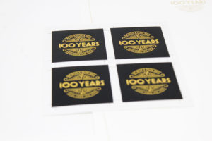 Die cut stickers made by O'Neil Printing in Phoenix Arizona
