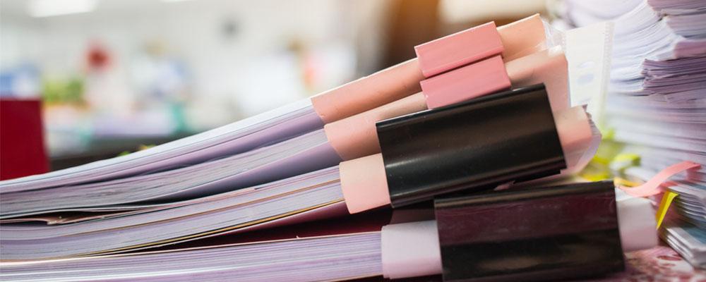 organize your desk - O'neil Printing